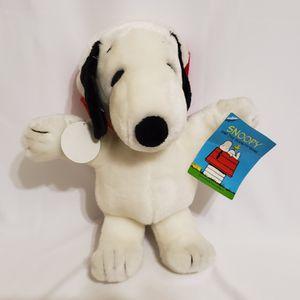 "Peanuts Santa Snoopy Soft Plush Stuffed Animal 10"" Christmas XMas Holidays for Sale in Brookfield, IL"