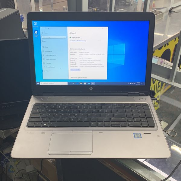 HP Pro book 650 Laptop i5,8gb, 256SSD Very Fast! Retail $1100