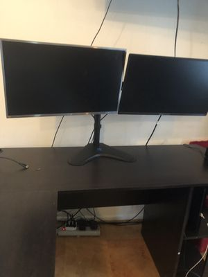Dual monitor stand $40 for Sale in Burke, VA