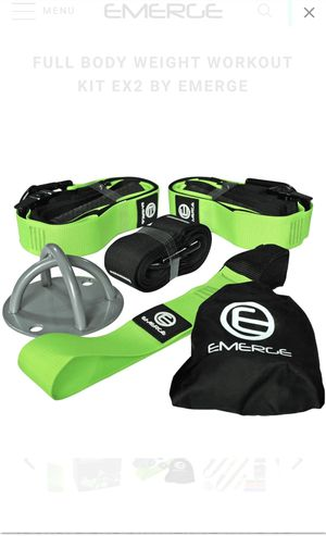 Emerge Body weight straps Fitness Bands for Sale in Fontana, CA
