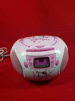 Hello Kitty CD, Radio, cassette player for Sale in Kissimmee, FL