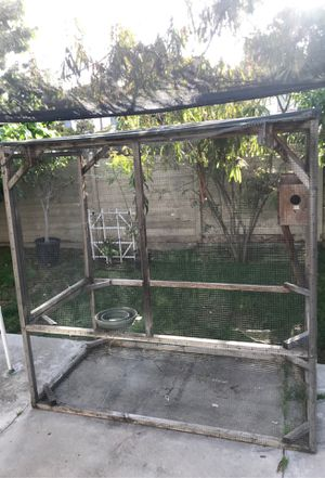 Bird cage 6 ft by 7 ft for Sale in San Diego, CA