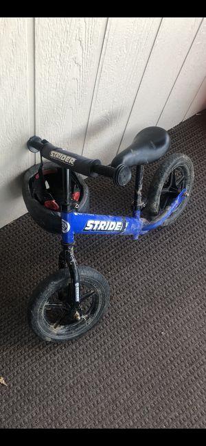 Strider kids balance bike for Sale in Wenatchee, WA