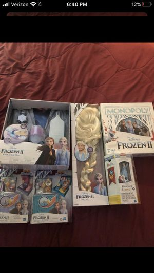 Disney Frozen II Games and toys for Sale in San Diego, CA