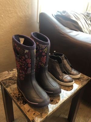 Rain boots for girls size 13 for Sale in Paramount, CA