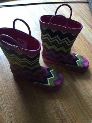 Kids missoni rain boots XL 13/1 for Sale in El Lago, TX