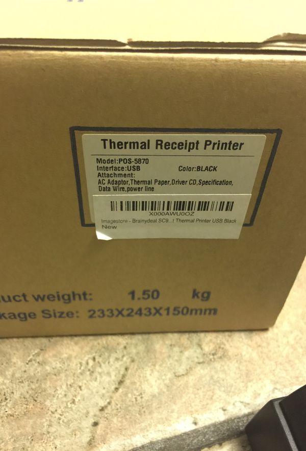NEW Thermal Printer