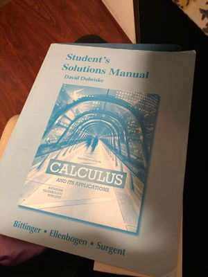 Calculus and it's applications for Sale in El Cajon, CA