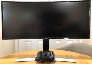 """Samsung S34E790C - 34"""" Inch Curved WQHD Cinéma Wide (3440 x 1440) Professional LED Monitor for Sale in Queens, NY"""