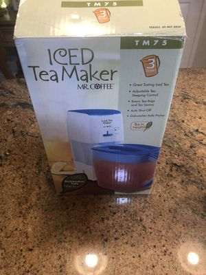 Mr Coffee Iced Tea Maker for Sale in Vacaville, CA
