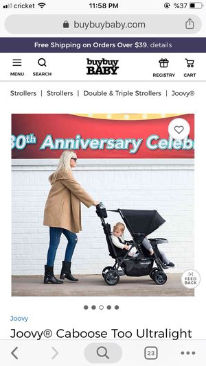 Brand New Joovy Caboose Too Ultralight Double Stroller for Sale in MAYFIELD VILLAGE, OH