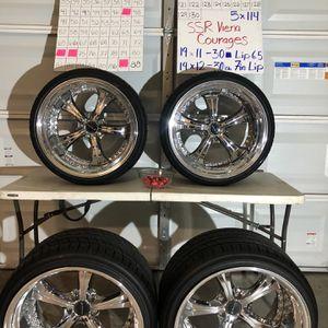 Ssr Vienna's Courage 3 -piece Wheels for Sale in Fresno, CA