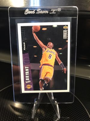 1996 Upper Deck Kobe Bryant ROOKIE Card RC #267 - Authentic Lakers Jersey 8 Collectible - MINT - Ready for GEM MINT Grade - $49 OBO for Sale in Carlsbad, CA