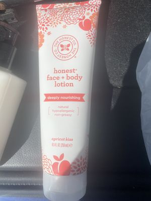 Honest Face & Body Lotion Natural Hypoallergenic and Non greasy for Sale in NJ, US