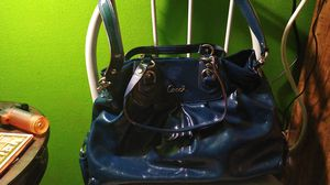 navy blue coach purse for Sale in Seattle, WA