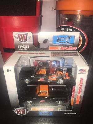 M2 die-cast autozone for Sale in Dale, TX
