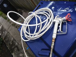 Paint sprayer gun and hose for Sale in TEMPLE TERR, FL