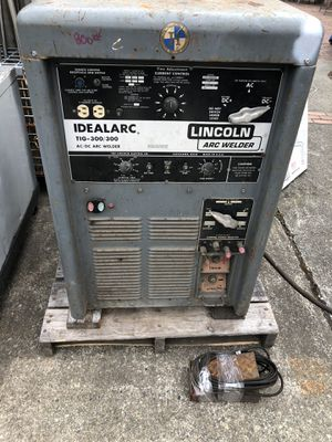 Lincoln Idealarc TIG-300 AC/DC Stick Welder for Sale in Seattle, WA