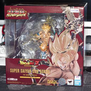 Super Saiyan Goku -The Burning Battles- Dragon Ball Z FiguartsZERO for Sale in Modesto, CA