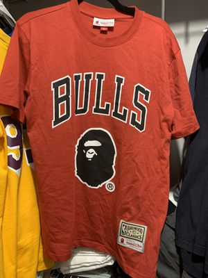Bape Mitchell and Ness Chicago Bulls T-shirt for Sale in Doraville, GA