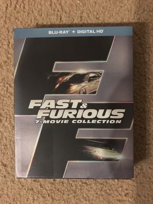 Fast & Furious 7-Movie Collection Blu-Ray for Sale in Tacoma, WA