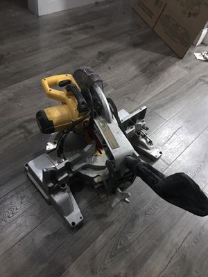 Dewalt miter saw double bevel 200 obo for Sale in Boston, MA