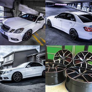 Mercedes 19 inch amg e63 black edt rims set4 brand new save big $$$ for Sale for sale  West Caldwell, NJ