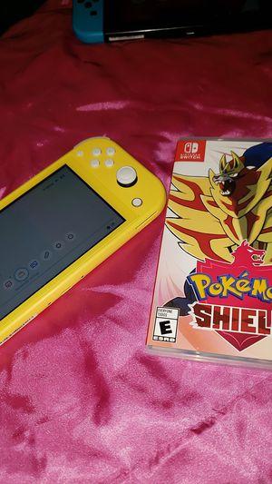 Nintendo Switch Lite w/ Pokemon Shield for Sale in Cambridge, MA