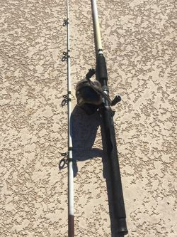 Zebco Catfish Pole And Zebco 808 Reel . Fishing for Sale in Henderson,  NV