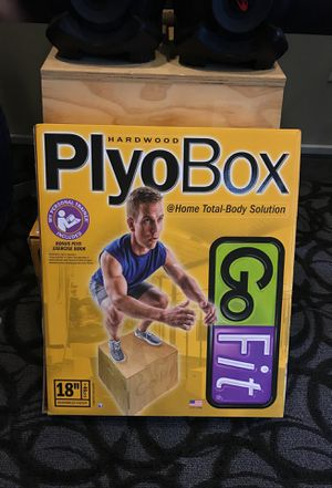 "18"" Wood Plyo Box by GoFit for Sale in Tempe, AZ"