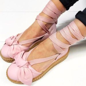 NWT | PUMA X FENTY | Bow Creeper Pink Sandals for Sale in Seattle, WA