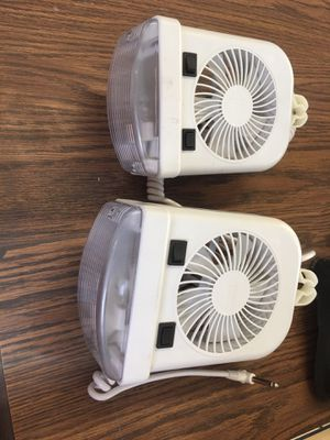 RV light and fan for Sale in Plainfield, IL