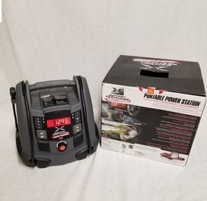 Schumacher Batter Extender 12-V, 1200 Amp Battery Jump Start, Includes air compressor, New, PRICE IS NOT NEGOTIABLE. for Sale in Palatine, IL