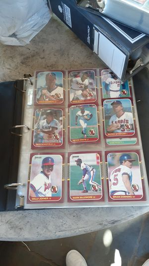 Collection baseball cards for Sale in Anaheim, CA