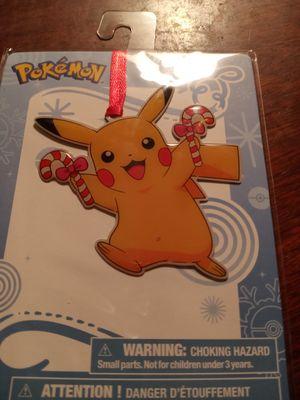 Pokemon Christmas ornaments for Sale in Faison, NC