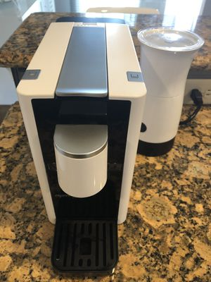 Espresso capsule coffee maker and milk frother for Sale in New Cumberland, PA