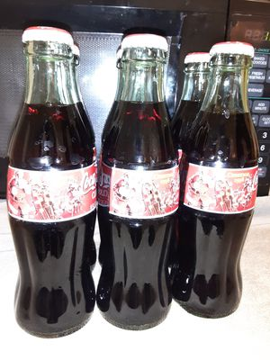 Coca-Cola Classic Christmas Bottles for Sale in Glendale, AZ
