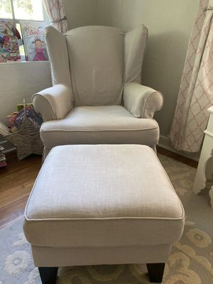 Pottery barn kids nursery chair & ottoman for Sale in Coral Gables, FL