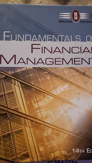 Fundamentals of financial Management for Sale in El Paso, TX