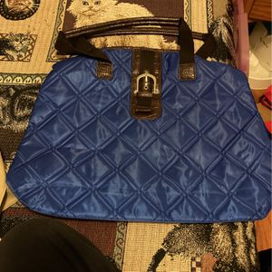 Large Avon Blue Quilt Pattern Tote Bag for Sale in Greenbelt, MD
