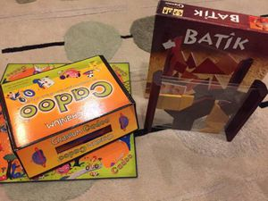 Family board games - Cranium Cadoo and Batik, great condition for Sale in Renton, WA