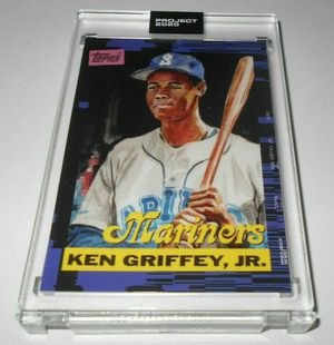 KEN GRIFFEY JR Topps Project 2020 Card #66 1989 rookie by Jacob Rochester for Sale in Lone Tree, CO