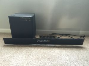 Samsung Sound Bar with Woofer for Sale in Durham, NC