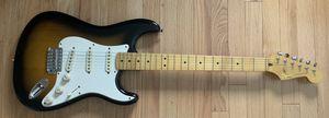 Fender Stratocaster Squier with Maple Fretboard Sunburst classic vibe for Sale in Seattle, WA
