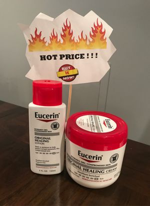 Eucerin cream & lotion for Sale in Hyattsville, MD