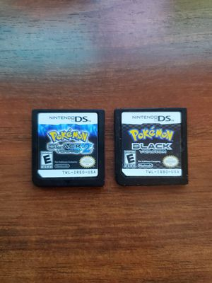 Nintendo ds two pokemon black version best offer for Sale in St. Petersburg, FL