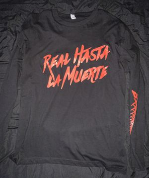 Real Hasta La Muerte Tour Long sleeve (L) for Sale in Fremont, CA