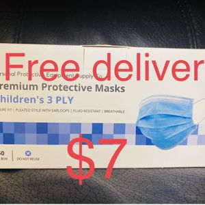 Kid Disposable Face Masks for Sale in Bell Gardens, CA