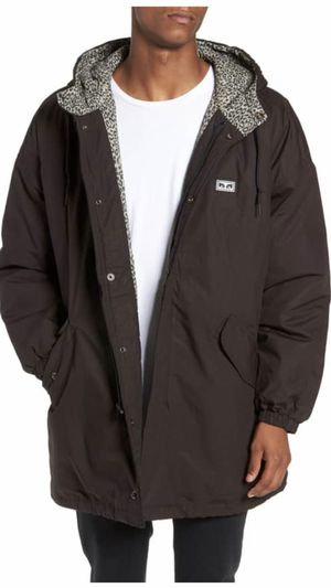 Obey Men's hooded Parka brand new for Sale in Henderson, NV