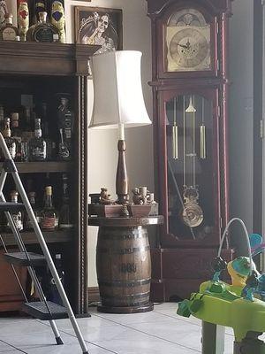 Antique Barrel floor lamp 1809 for Sale in Las Vegas, NV